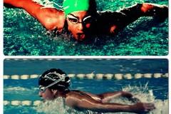 Elena e Adriana:due sorelle nel segno del nuoto
