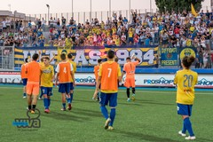 Audace Cerignola, Vittorio Esposito e Giuseppe Siclari salutano i gialloblù
