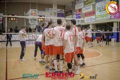 Fenice Volley Cerignola, il cuore e l'orgoglio non bastano: la capolista Fano passa per 3-0
