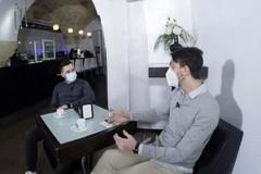 """Prima puntata di  """"Coffee Break"""" su """"lenewstv"""", Alfonso Divito intervista Fabio D'Imperio"""