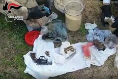 Armi, munizioni e droga sequestrati nelle campagne di Cerignola