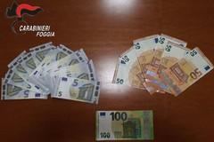 Cittadini di Orta Nova acquistavano prodotti con banconote false