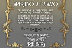 """Cerignola - Venerdì 16 Novembre """"Aperitivo a Palazzo Fornari"""" con la musica del dj Vincent Dinisi."""