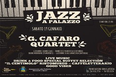 "Palazzo Fornari: Al via la rassegna ""Jazz al Palazzo"", sabato 19 gennaio, ore 21:00"