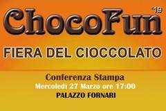 """""""ChocoFun""""-  mercoledì 27 Marzo alle ore 17:00 la conferenza stampa a Palazzo Fornari."""
