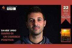 """Davide Urso presenta """"Diario di un'odissea positiva"""""""