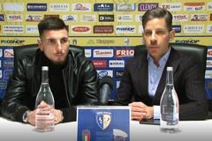 Francesco Zagaria intervista l'attaccante Audace Cerignola Nicola Loiodice