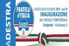 """Cerignola, domani alle 19 apre #lacasadelladestra: la """"sezione"""" di Fratelli d'Italia"""