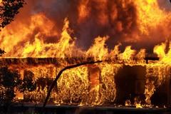 Notte di fuoco a Orta Nova: