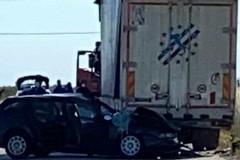 Incidente stradale nei pressi di Ippocampo