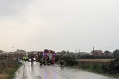 Incidente stradale sulla SP110, perde la vita una bambina di 8 anni