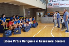L'Assessore Dercole incontra le atlete, la dirigenza e lo staff della Libera Virtus -FOTO-