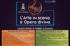 """Lieder Opera in Torre Alemanna"", questa sera il grande evento."