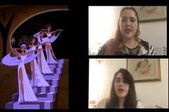 """Il soprano Monica Paciolla in """"Disney excerpt"""""""