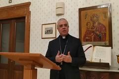 Preghiera mattutina con il Vescovo di Cerignola Mons. Renna