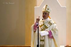 Le dure parole del Vescovo Renna per condannare l'atto criminoso ai danni dei due vigilantes