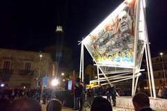 Cerignola celebra la ricollocazione del murale dedicato a Di Vittorio