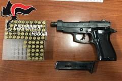 Detenzione di pistola clandestina, un arresto