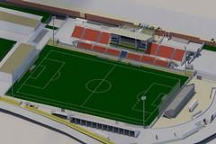 Assessore Dercole: pronto il progetto per l'ampliamento e l'adeguamento dello Stadio Monterisi -FOTO E VIDEO-