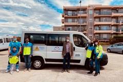 La Fondazione dei Monti Uniti dona un pulmino alla Misericordia di Foggia