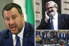 Salvini e Emiliano, parole pesanti, M5S contro Emiliano