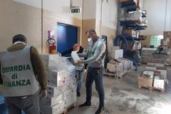 Sequestro di oltre 4000 confezioni di gel igienizzante a Cerignola