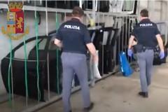 Sequestro 1500 pezzi di ricambio auto a Cerignola