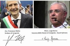 Tre Titoli: Sindaco Metta e Vescovo Renna scrivono al Presidente Emiliani.