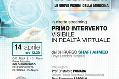 """""""Virtual Reality in Surgery"""" - Le nuove visioni della medicina- Giovedì 14 Aprile 2016"""