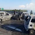 Assalto a portavalori sulla A/14 Cerignola – Canosa di Puglia