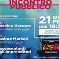 Foggia: eventi criminali, Libera discute con il Procuratore Ludovico vaccaro ed il Prefetto Massimo Mariani.