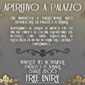 """Cerignola - Venerdì 16 Novembre  """"Aperitivo a Palazzo Fornari """" con la musica del dj Vincent Dinisi."""