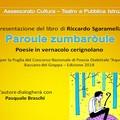 """Assessore Petruzzelli: Sabato 24 Novembre 2018 sarà presentato il libro """"Paroule zumbaròule"""" di Riccardo Sgaramella"""""""