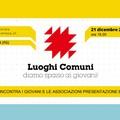 Stornara: Luoghi Comuni - Incontro/presentazione del nuovo bando regionale