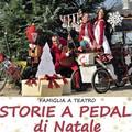 """""""Storie a pedali di Natale"""" l'evento artistico teatrale che si terrà domenica 16 Dicembre alle ore 11:00"""