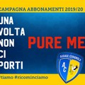 Audace Cerignola, campagna abbonamenti 2019/2020