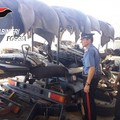 Scoperto deposito di autocarri rubati a Cerignola