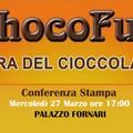 """""""ChocoFun """"-  mercoledì 27 Marzo alle ore 17:00 la conferenza stampa a Palazzo Fornari."""