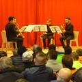"""""""La musica ci rende liberi"""". Successo per il primo concerto di sassofoni nel carcere di Foggia"""