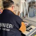 Controlli dei carabinieri sulla sicurezza dei lavoratori presso le aziende