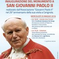 Inaugurazione Monumento a San Giovanni Paolo II