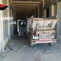 Rubati mezzi per la raccolta differenziata a Torremaggiore, rinvenuti a Cerignola.