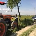 Recuperato ad Ascoli S. trattore rubato ad Avellino