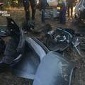Scene da film a Cerignola. Inseguito dall'elicottero dopo essere stato sorpreso a smontare auto - VIDEO-
