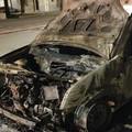 A Carapelle incendiata l'auto di un carabiniere
