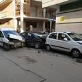 Incidente stradale a Cerignola nel quartiere Scarafone