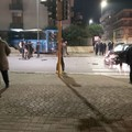 Incidente a Cerignola, il pullman di linea entra nel cortile di un palazzo