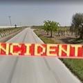 Incidente stradale sulla SP 62 Cerignola – Trinitapoli