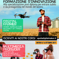Percorsi formativi in Multimedia Producer e Digital Farmer.