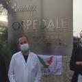 """Ospedale """"Tatarella"""" Cerignola, la protesta del Movimento """"L'altra Italia"""